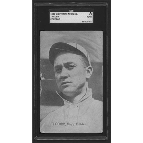 Record-Setting 1907 Cobb Rookie