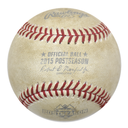 "Ball from Jose Bautista's Memorable ""Bat Flip"" Fetches $28252.80"