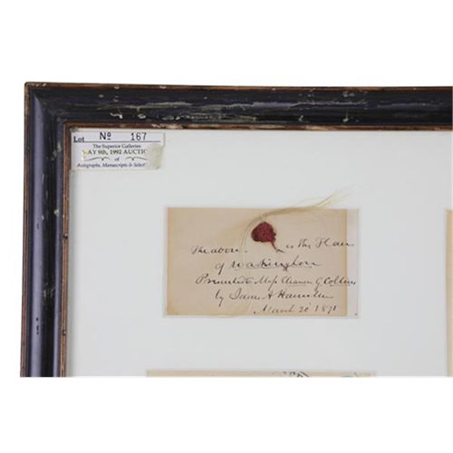 Lock of George Washingtons Hair Has Fetched More Than $35000 at Auction