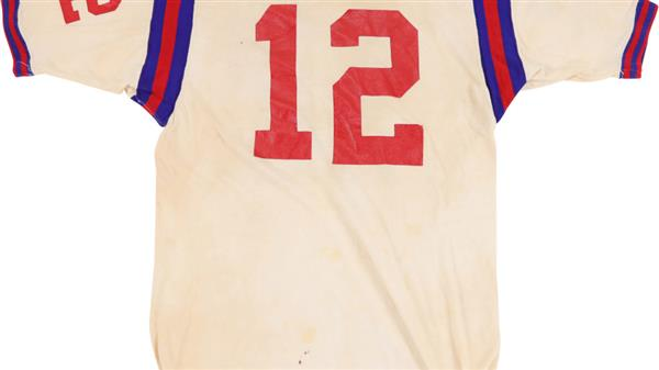 Terry Bradshaw Louisiana Tech Game Worn Jersey