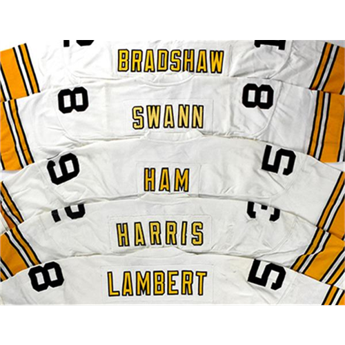Game Worn Pittsburgh Steelers Jerseys Up for Auction