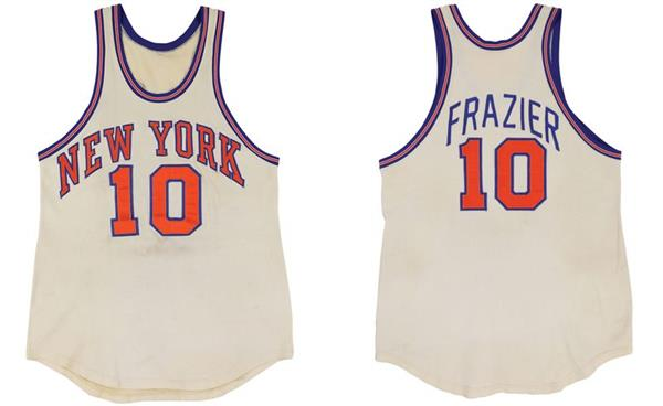 Knick's Frazier Jersey from Greatest Performance up for Auction