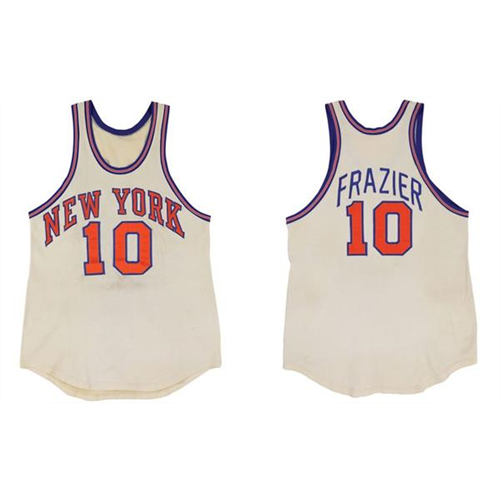 Knicks Frazier Jersey from Greatest Performance up for Auction