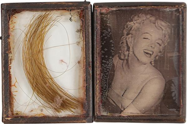 Lock of Marilyn Monroe's Hair Meets the Auction Block