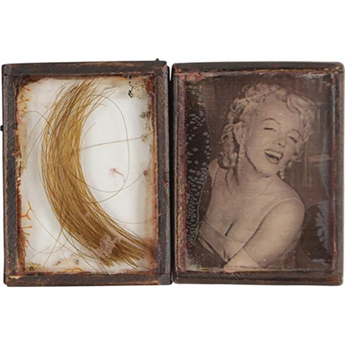 Lock of Marilyn Monroes Hair Meets the Auction Block