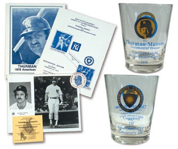 1977 Thurman Munson Testimonial Collection