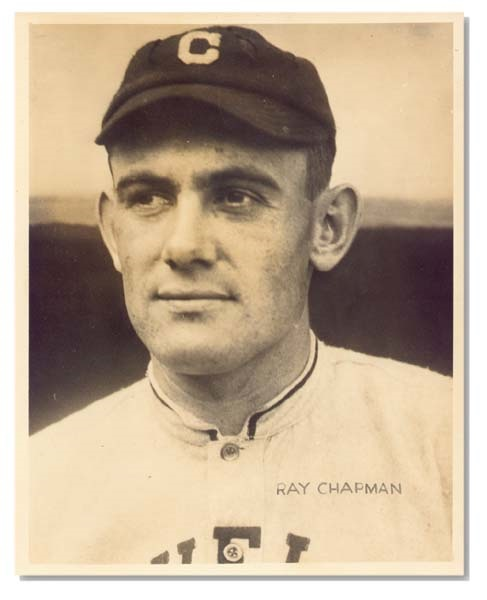 Ray Chapman Photo by George Burke