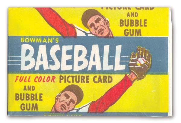 1955 Bowman Baseball Penny Pack
