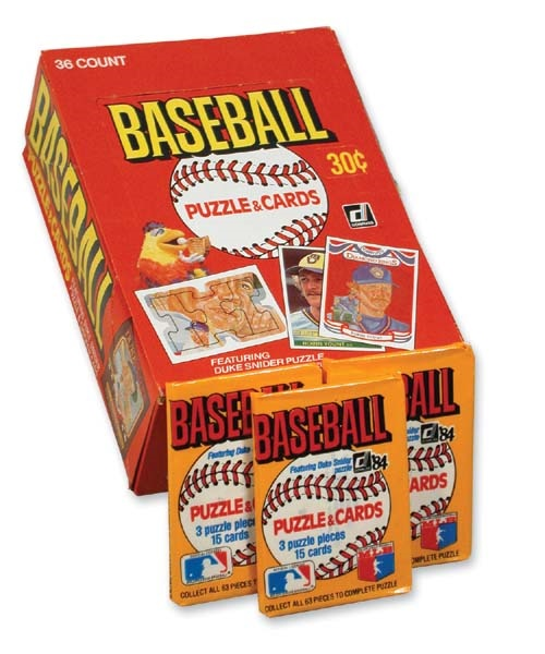 1984 Donruss Baseball Wax Boxes (5)