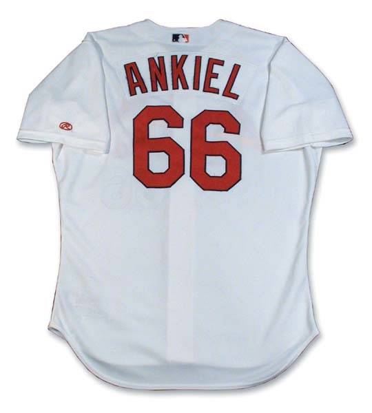 2000 Rick Ankiel Game Worn Jersey