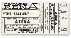 September 4, 1964 Tickets