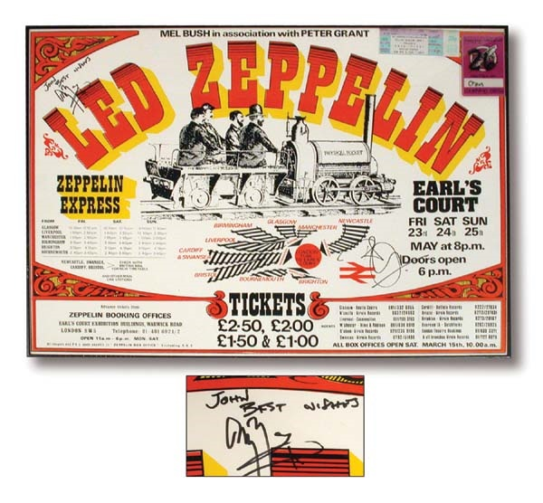 Led Zeppelin - May 2002