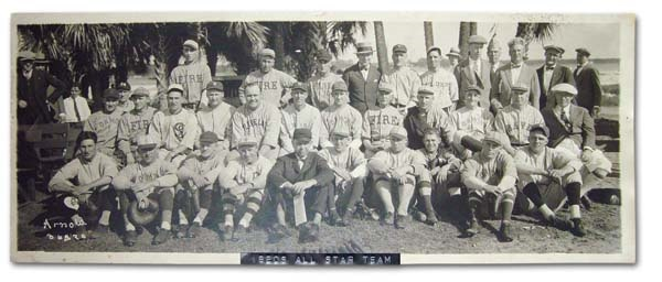 1920's Walter Johnson All-Star Team Panorama