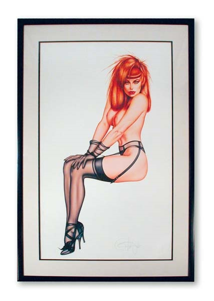 Olivia Signed and Numbered Lithograph