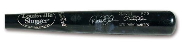2001 Derek Jeter Game Used Bat (34