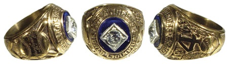 1963 Los Angeles Dodgers World Series Ring