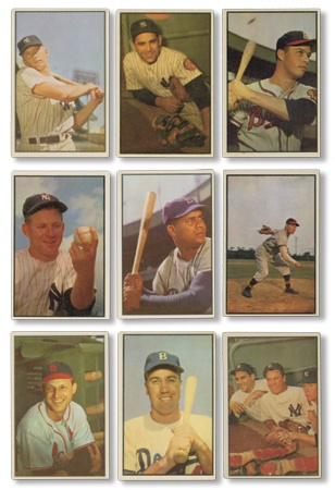 1953 Bowman Color & 1954 Bowman Near Sets