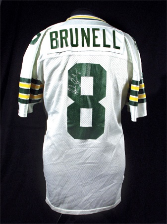 wholesale dealer 4c346 daebe 1993 Mark Brunell Rookie Green Bay Packers Jersey