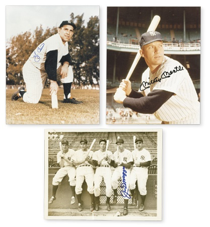 New York Yankees Greats Autographed Collection (28)