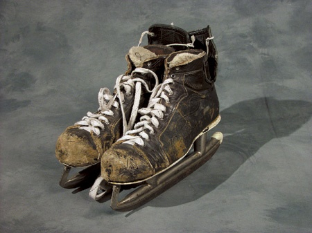 1970's Bobby Hull Game Worn Skates