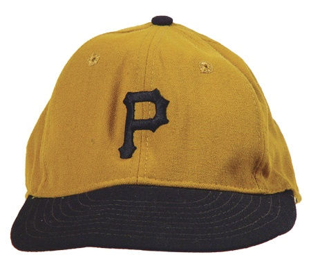 1973 Dave Parker First Major League Game Worn Cap
