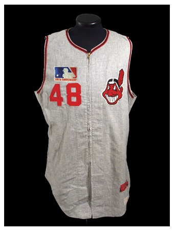 1969 Sam McDowell Game Worn Road Jersey