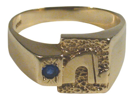 1990's Quebec Nordiques Fan Club Ring