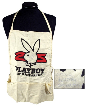 Dorothy Stratten Signed Apron