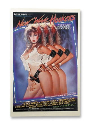 Traci Lords New Wave Hookers Movie Poster