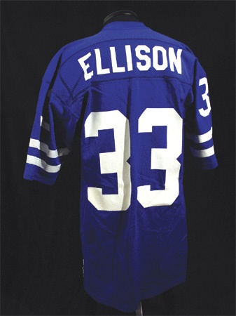 Early 1970's Willie Ellison Game Worn Rams Jersey