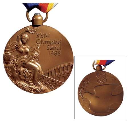 1988 Bronze Medal from the Games of the XXIV Olympiad