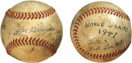The Bill Bevens 1947 World Series Last Ball Hit