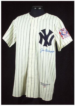 Joe DiMaggio - December 2002