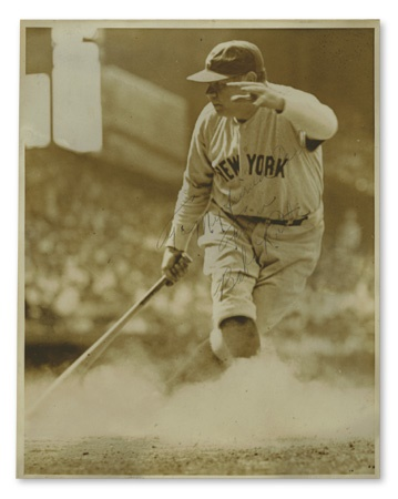 "Babe Ruth Signed Photograph (8x10"")"