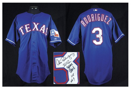Baseball Jerseys - December 2002