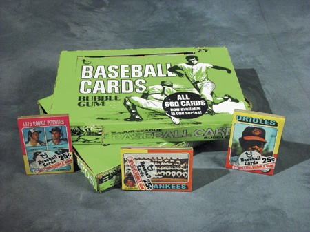 Unopened Wax Packs Boxes and Cases - December 2002
