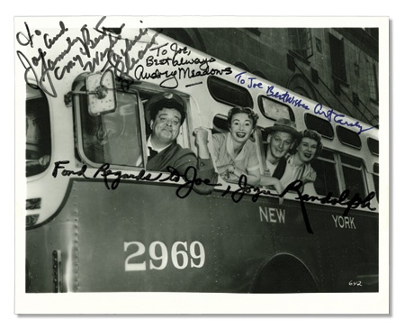 "Honeymooners Personalized Signed Photo (8x10"")"