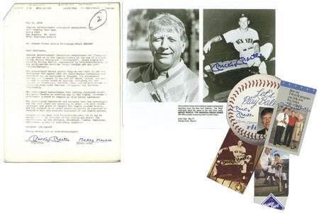 Mickey Mantle Signature Collection (20)