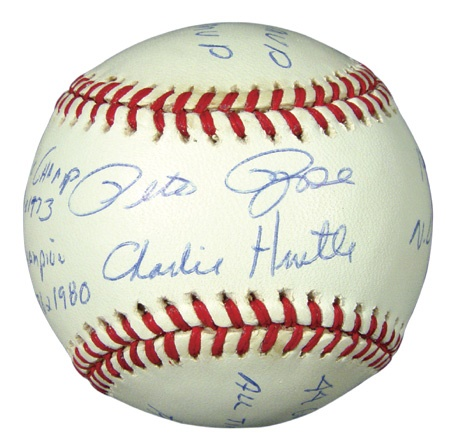 Pete Rose - auction