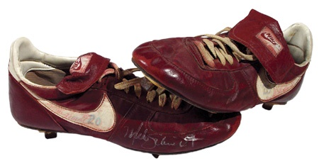 1980's Mike Schmidt Game Worn Spikes
