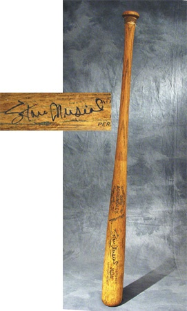 "Late 1950's – Early 60's Stan Musial Autographed Game Used Bat (34.5"")"