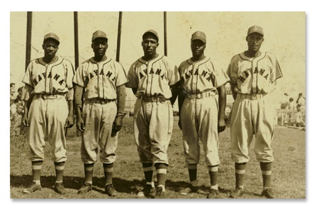 1940's Havana Paloma Negro League Team Photograph