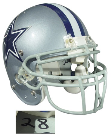 Darren Woodson Dallas Cowboys Game Worn Helmet