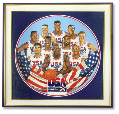 "Dream Team I Original Artwork (43x43"")"