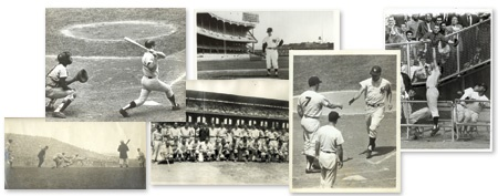 Large Baseball Wire Photograph Collection (244)
