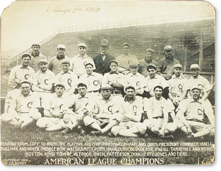 "1906 Chicago White Sox Team Photo (14x18"")"