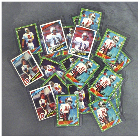 Topps Football Set Collection of (13)