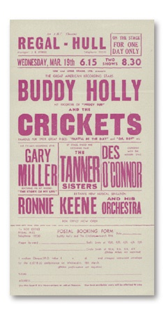 Buddy Holly - December 2002