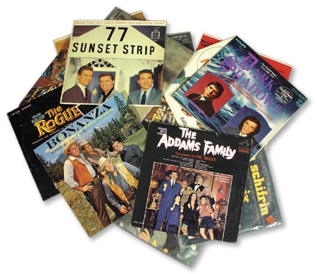 TV Soundtrack Record Collection (75+)