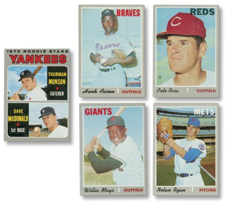 Baseball and Trading Cards - auction